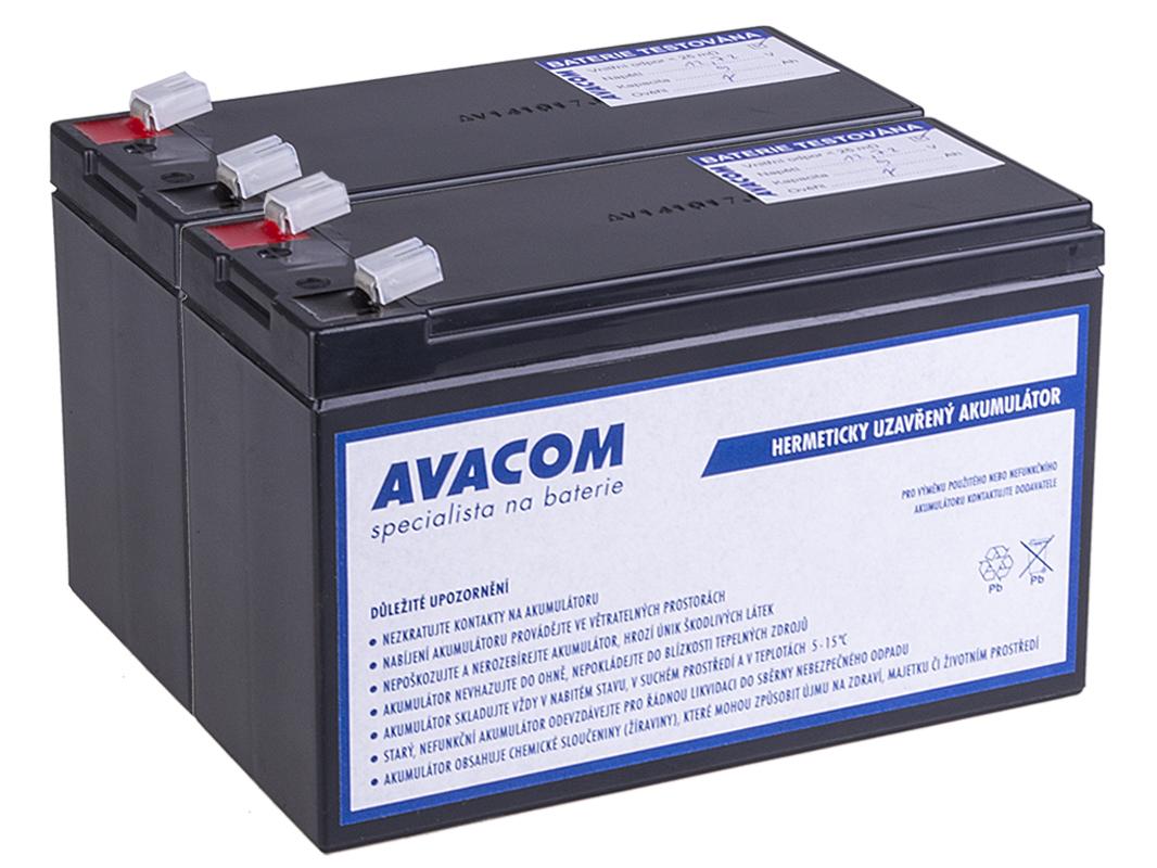 Bateriový kit AVACOM AVA-RBC124-KIT náhrada pro renovaci RBC124 (2ks baterií); AVA-RBC124-KIT