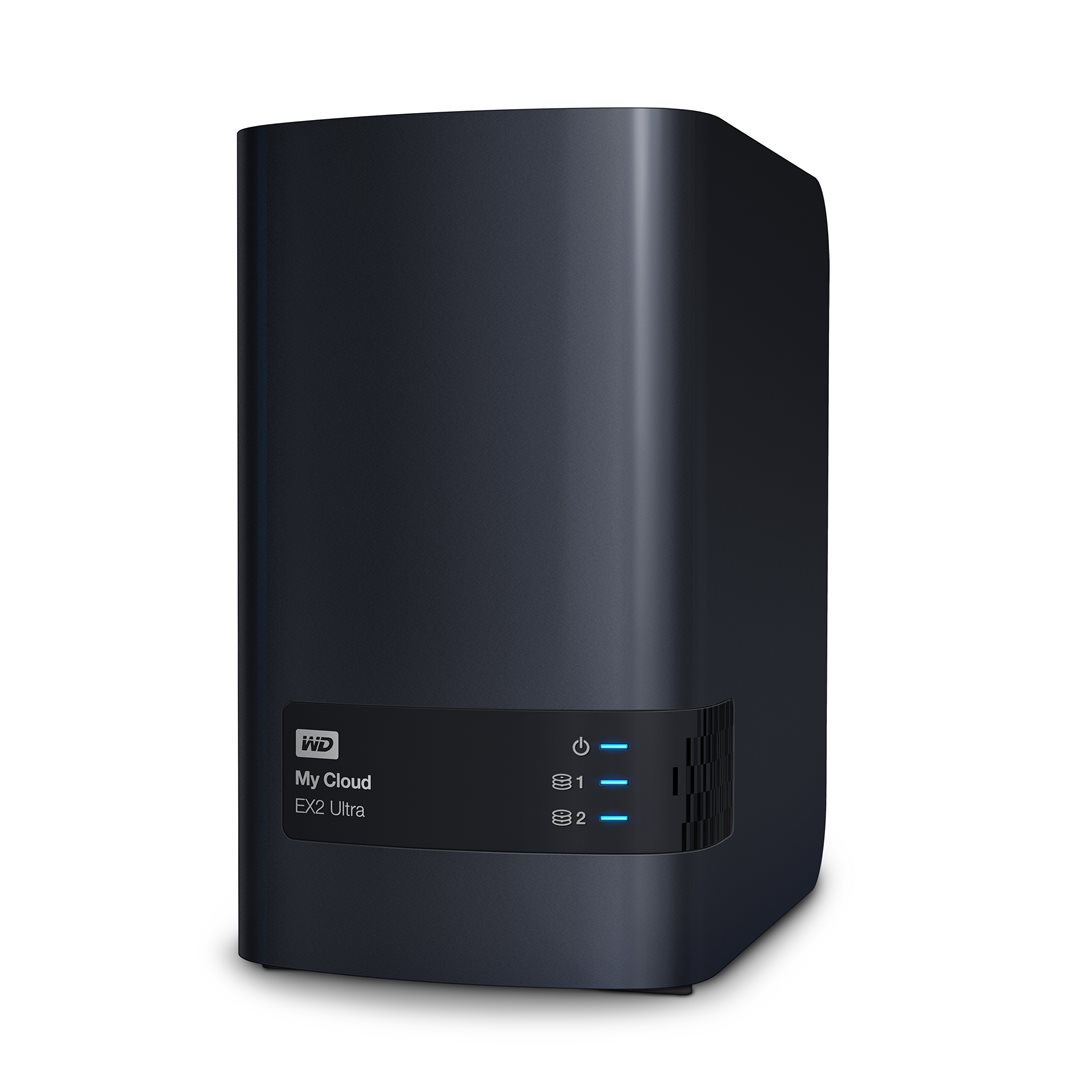 "NAS 3.5"" WD My Cloud EX2 Ultra 6TB NAS LAN; WDBVBZ0060JCH-EESN"