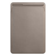 iPad Pro 10,5'' Leather Sleeve - Taupe