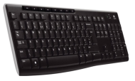Logitech Kl. Wireless Keyboard K270, US INT´L