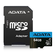 ADATA MicroSDXC 64GB UHS-I 100/25MB/s + adapter