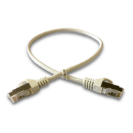 DATACOM Patch cord S/FTP CAT6A 0,5m šedý