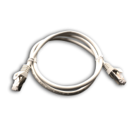 DATACOM Patch cord S/FTP CAT6A 1m šedý