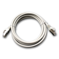 DATACOM Patch cord S/FTP CAT6A 2m šedý