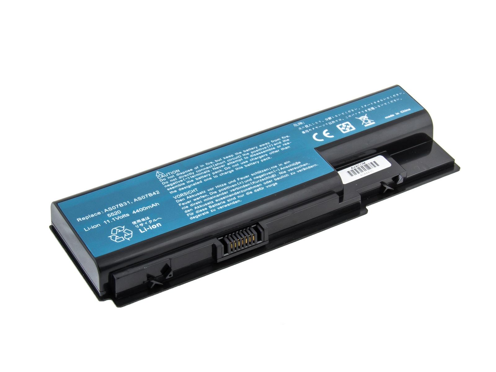 Baterie AVACOM NOAC-6920-N22 pro Acer Aspire 5520/6920 Li-Ion 10,8V 4400mAh; NOAC-6920-N22
