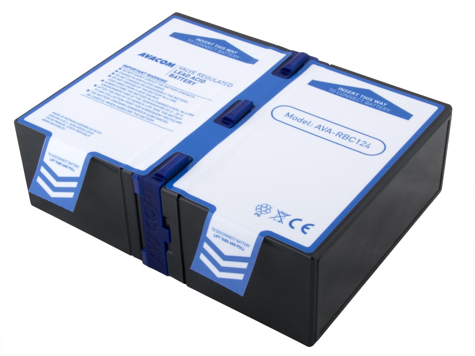 AVACOM náhrada za RBC124 - baterie pro UPS; AVA-RBC124