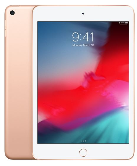 Apple iPad mini Wi-Fi + Cellular 256GB - Gold; MUXE2FD/A