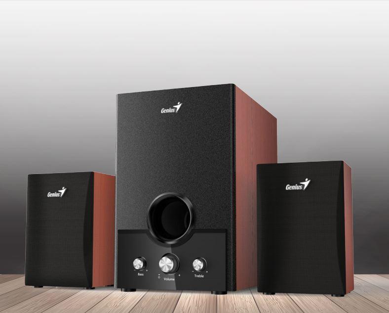 Speaker GENIUS SW-HF2.1 1700 II 45W wood; 31730013400