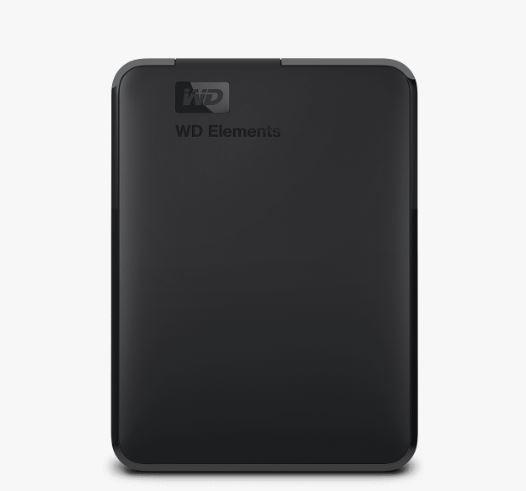 """Ext. HDD 2.5"""" WD Elements Portable 5TB USB; WDBU6Y0050BBK-WESN"""