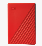 "Ext. HDD 2,5"" WD My Passport 2TB USB 3.0. červený"