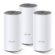 TP-Link AC1200 Whole-home Mesh WiFi System Deco E4(3-pack), 2x10/100 RJ45