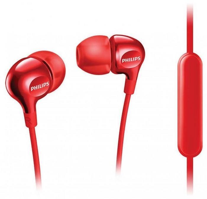 PHILIPS SHE3555RD červená sluchátka do uší; SHE3555RD/00