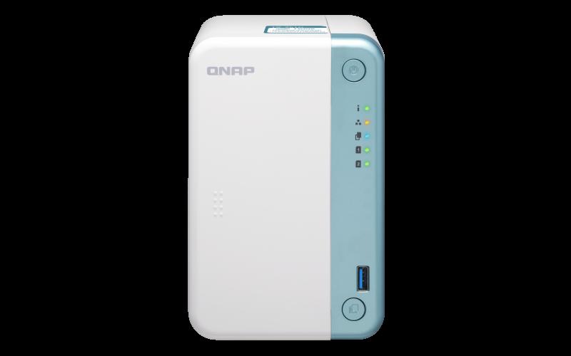 QNAP TS-251D-2G ( 2,0GHz / 2GB RAM / 2xSATA / 1xHDMI / 1x GbE / 3x USB 2.0 / 2x USB 3.0 ); TS-251D-2G