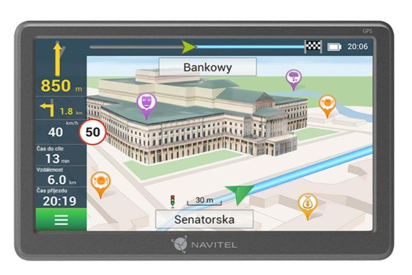 Navigace do auta Navitel E707 Magnetic; GPSNAVIE707M