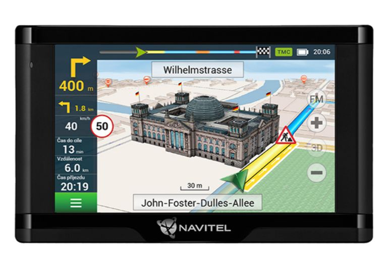 Navigace do auta Navitel E500 TMC Magnetic; GPSNAVIE500TMCM