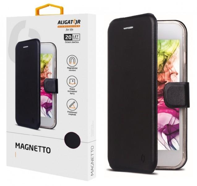 ALIGATOR Magnetto Huawei P30 Lite, Black; PAM0043