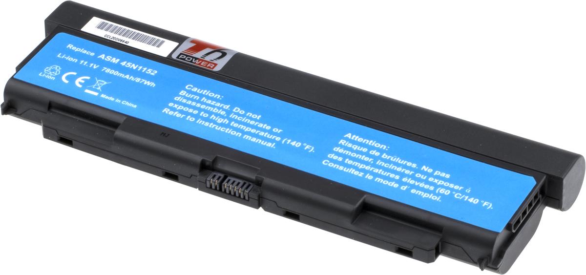 Baterie T6 power Lenovo ThinkPad T440p, T540p, W540, L440, L540 serie, 7800mAh, 87Wh, 9cell; NBIB0111