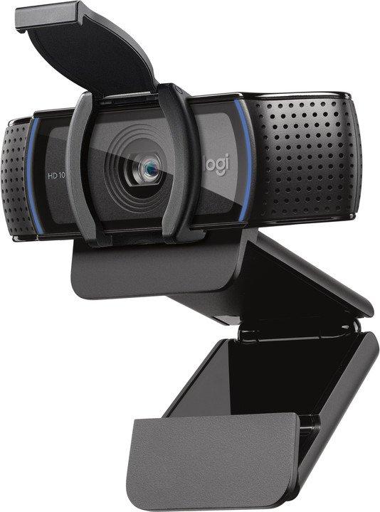 webová kamera Logitech FullHD Webcam C920s; 960-001252