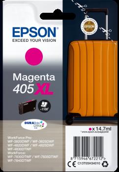 Epson Singlepack Magenta 405XL DURABrite Ultra Ink; C13T05H34010