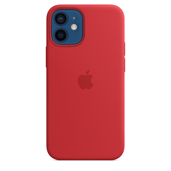 iPhone 12 mini Silicone Case wth MagSafe (P)RED/SK; MHKW3ZM/A