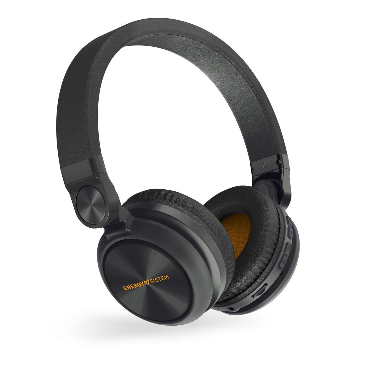 Energy Sistem HP BT Urban 2 Radio Graphite sluchátka, FM rádio, mikro SD, MP3, WAV, Li-Pol, až 10 ho; 448890