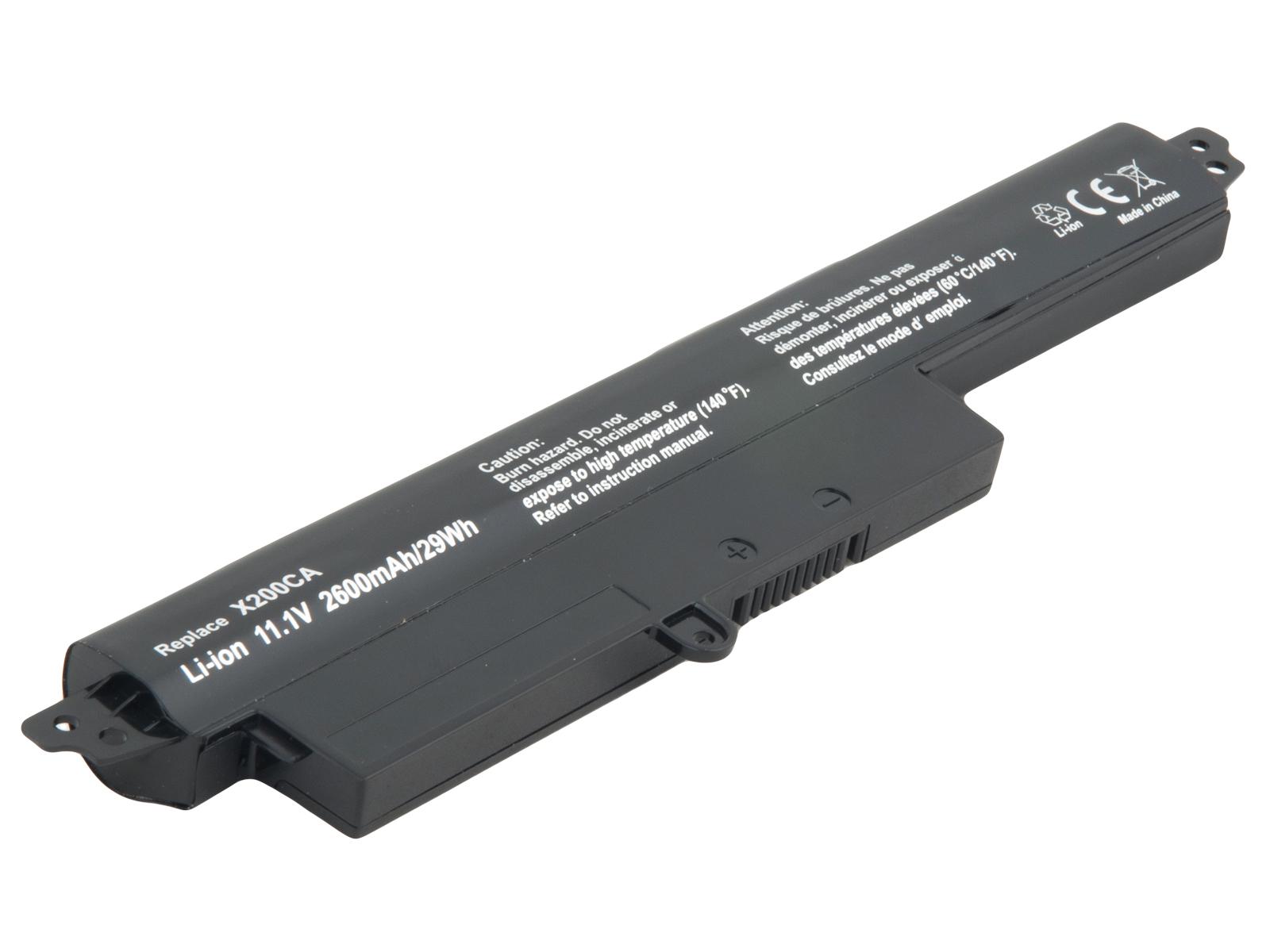 Baterie AVACOM pro Asus VivoBook X200CA Li-Ion 11,25V 2600mAh 29Wh; NOAS-X200-N26