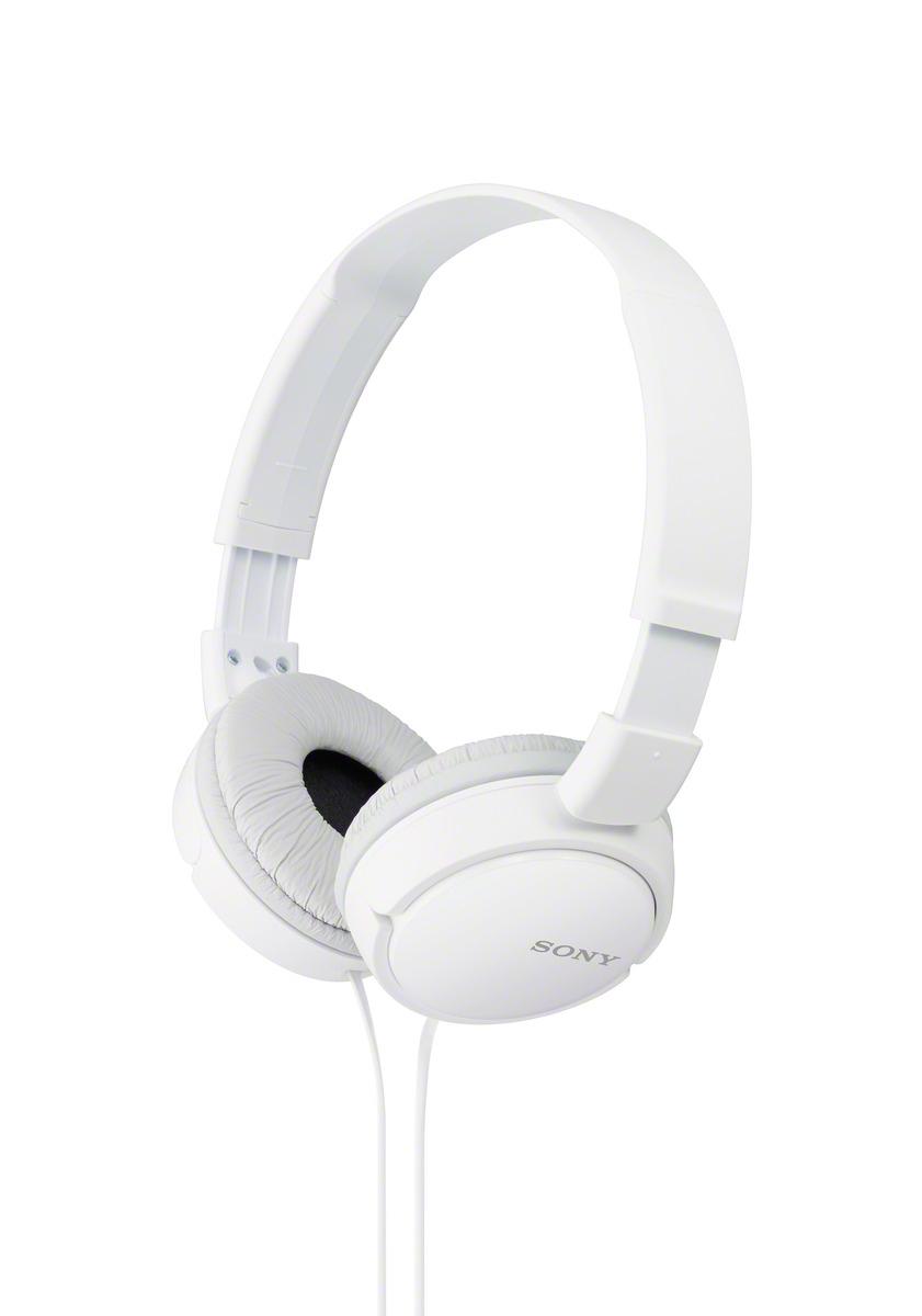 SONY sluchátka MDR-ZX110 bílé; MDRZX110W.AE