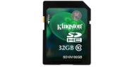 32GB Secure Digital SDHC Kingston - class 10