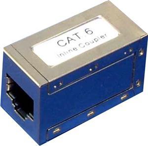 Spojka 2x RJ45 STP Cat6;
