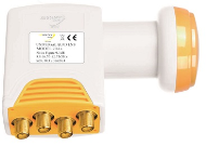 LNB Golden Media 204+ QUAD High Gain 0,1 dB