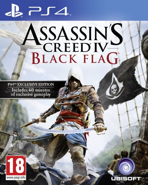 PS4 - Assassin's Creed: Black Flag; 3307215715123