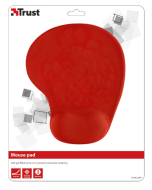 podložka TRUST BigFoot Gel Mouse Pad - red