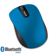 Microsoft Bluetooth 4.0 Mobile Mouse 3600, modrá