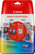 Canon PG-540XL / CL-541XL + 50x GP-501