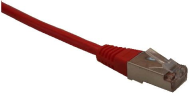 Patch cord FTP cat5e 0,25M červený