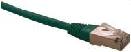 Patch cord FTP cat5e 0,25M zelený