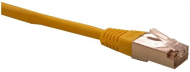 Patch cord FTP cat5e 0,25M žlutý