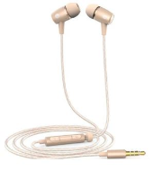 Huawei in-ear sluchátka, 3-button, mikrofon, gold