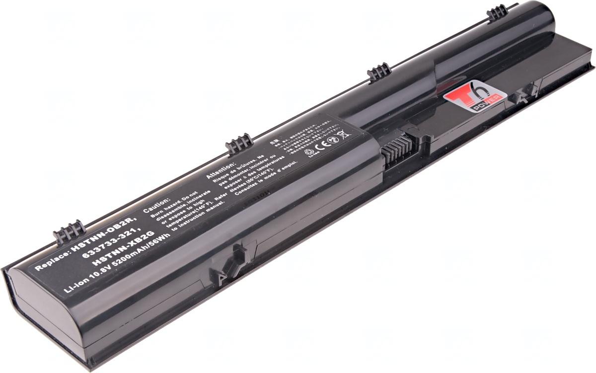 Baterie T6 power HP ProBook 4330s, 4430s, 4435s, 4440s, 4530s, 4535s, 4540s, 4545s, 6cell, 5200mAh; NBHP0074