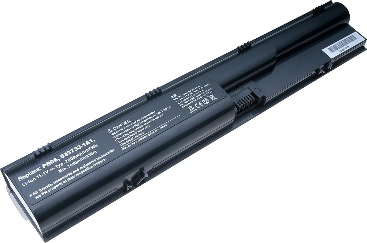 Baterie T6 power HP ProBook 4330s, 4430s, 4435s, 4440s, 4530s, 4535s, 4540s, 4545s, 9cell, 7800mAh; NBHP0086