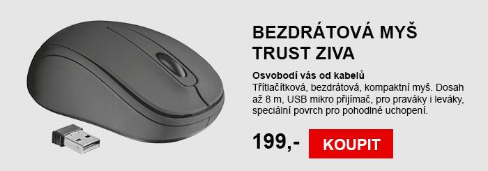 Bezdrátová myš Trust ZIVA