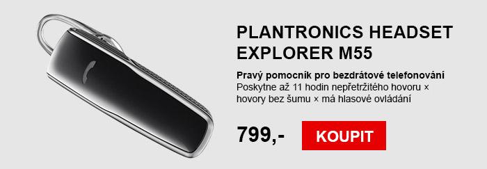Plantronics Headset Explorer M55