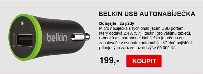 BELKIN USB autonabíječka