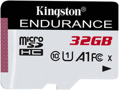 32GB microSDHC Kingston Endurance CL10 A1 95R/45W bez adapteru