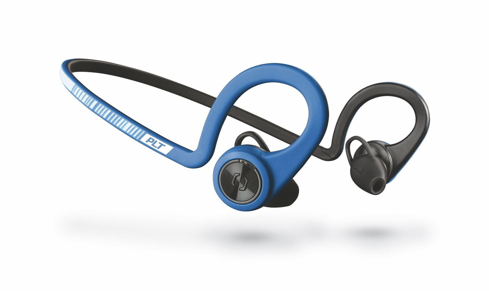 Plantronics Stereo Headset Backbeat FIT, Bluetooth v3.0, IP57, modrý