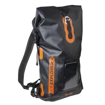 """Voděodolný batoh CELLY Explorer 20L s kapsou na mobilní telefon do 6,5"""", černý"""