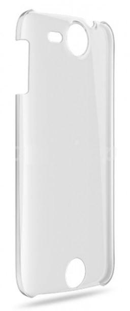 Zadní průhledný kryt telefon Acer Liquid JADE,bílý