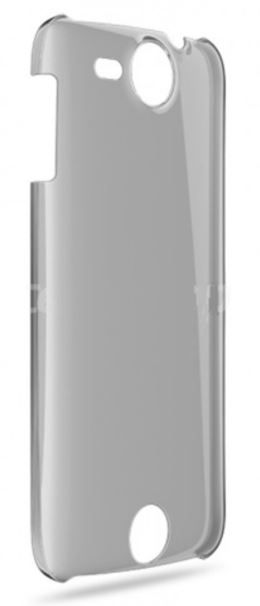 Zadní průhledný kryt telefon Acer Liquid JADE,čern