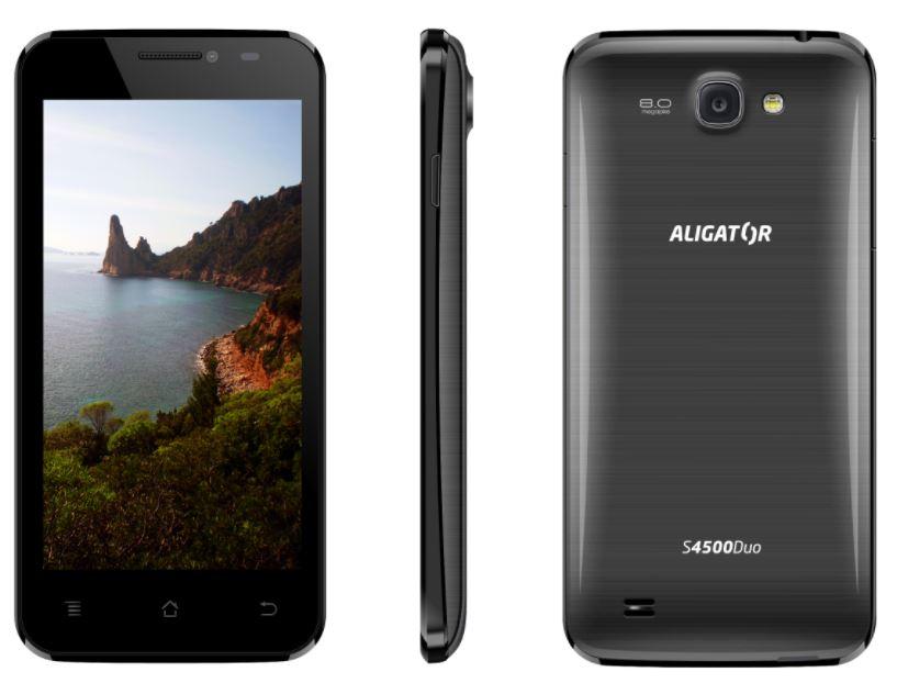 ALIGATOR S4500 Duo IPS, černá